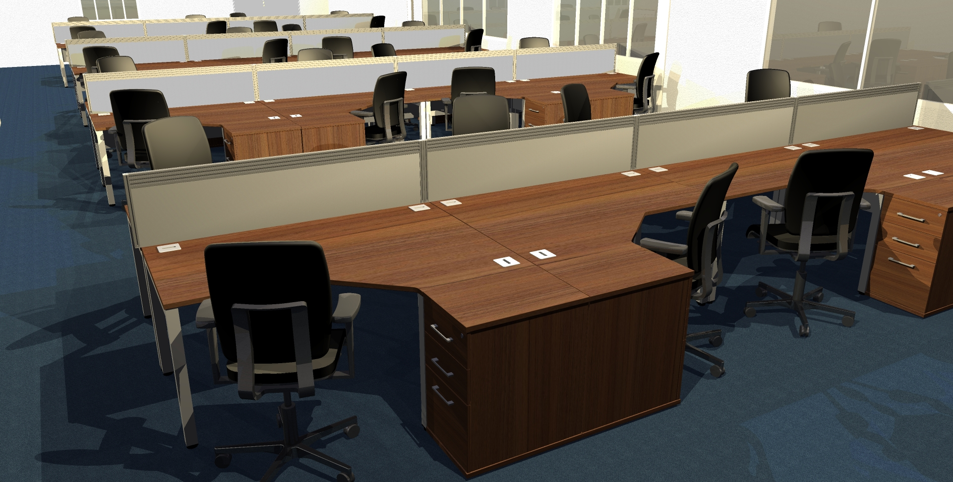 Office furniture planning service euro business services for Office design derby